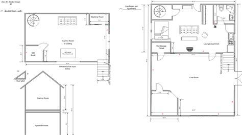 art studio final floor plan tate eskew