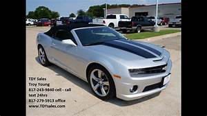 See Slideshow For Sale  30 988 Silver 2011 Chevrolet Camaro 2ss Convertible