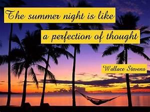 Amazing summer ... Hot Summer Night Quotes