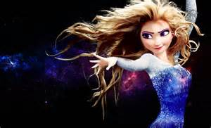 Elsa with Star Power