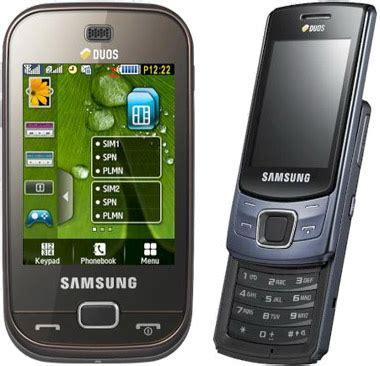 samsung duos phones show