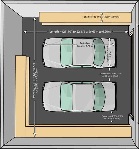 garage größe für 2 autos 27 best images about one car garage plans on
