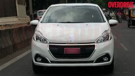 Peugeot India by 2017 Peugeot 208 Spotted In India Overdrive