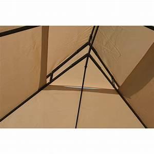Gartenpavillon Metall 3x4 : gartenpavillon metallpavillon 3x4 meter beige gartenzelt ~ A.2002-acura-tl-radio.info Haus und Dekorationen