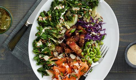 grilled bok choy salad recipe unilever food solutions ca