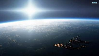 Space Station International Earth Iss Wallpapers Satellite