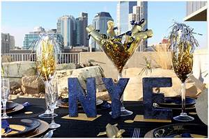 """""""Midnight"""" Themed New Years Eve Dinner Party 