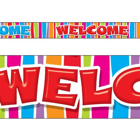 Classroom Display Borders / Trimmers | Welcome - Razzle ...