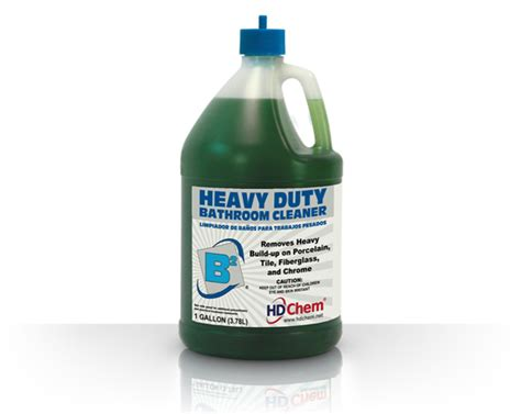 heavy duty bathroom cleaner