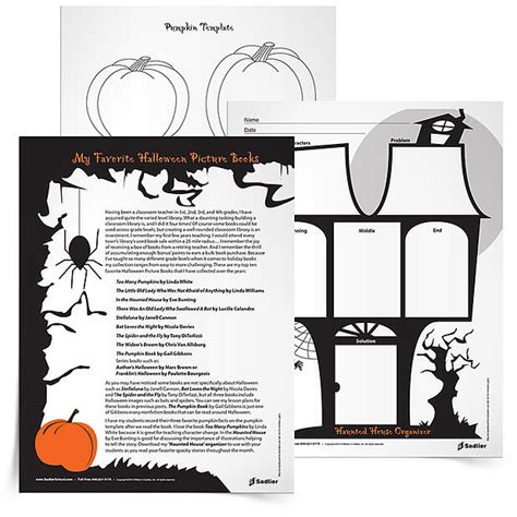 halloween reading comprehension worksheets  graphic