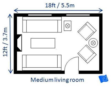 Average Size Of Living Room Addition by A List Of Small Medium And Large Living Room Size