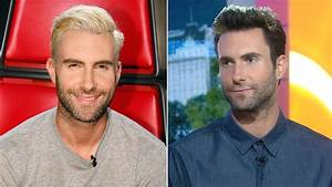 As a blond, Adam Levine did not have more fun: 'No one ...
