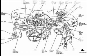 Cluster Diagram 2001 Lincoln Town Car