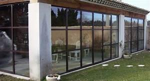 Fermer Une Terrasse Couverte : v randa acier aix en provence ~ Melissatoandfro.com Idées de Décoration