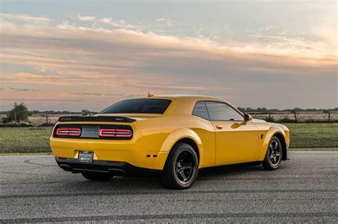 Hennessey 2018 Dodge Challenger Demon Runs A 9.14-second