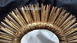 3 Teiliger Spiegel : sonnenspiegel spiegel sun mirror 50 er jahre ca 52 cm vergoldet holz ~ Bigdaddyawards.com Haus und Dekorationen