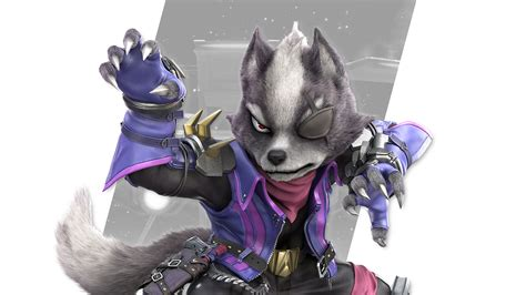 super smash bros ultimate wolf wallpapers cat  monocle