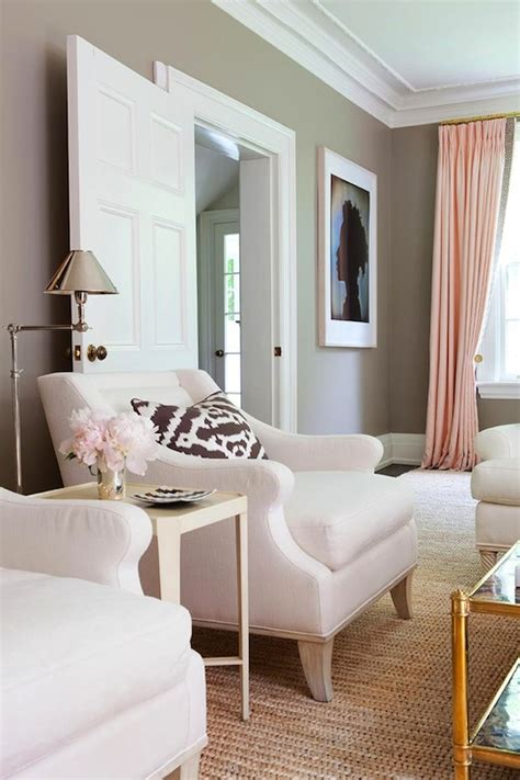 taupe paint color contemporary living room benjamin