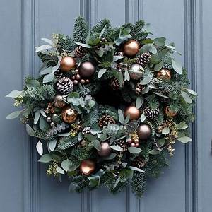 Precious Metals Christmas Wreath RS Flower Design RS
