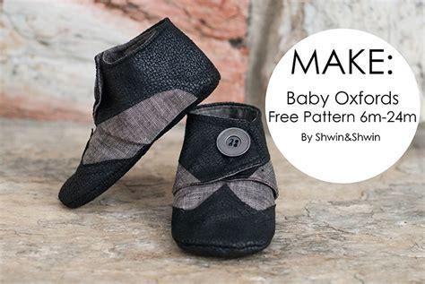 baby oxfords  pattern shwin  shwin