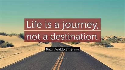 Journey Destination Happiness Emerson Waldo Ralph Smart