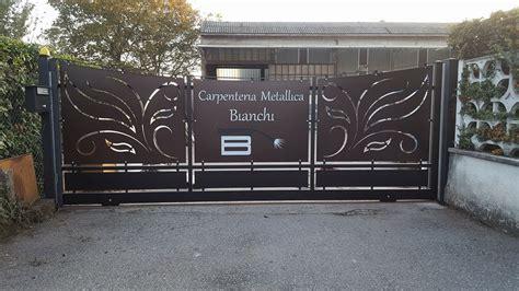 Cancello Ingresso by Cancello Ingresso Carpenteria Metallica Bianchi