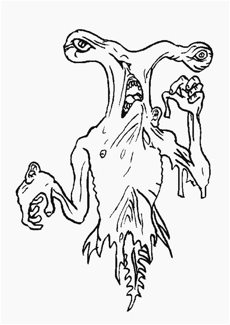 monsters  coloring pages coloringpagescom