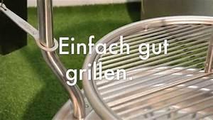 Grill Selber Bauen Edelstahl : holzkohle schwenk grill aus edelstahl piazzo aus deutscher meisterfertigung youtube ~ Sanjose-hotels-ca.com Haus und Dekorationen