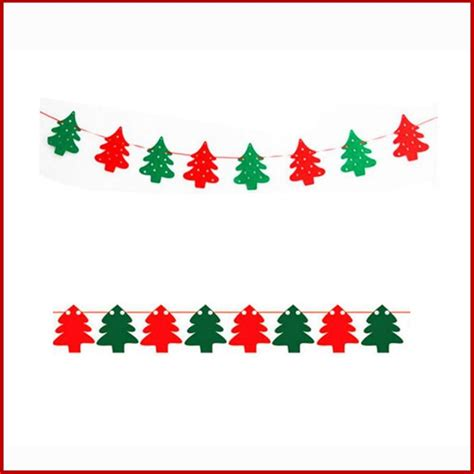 string flags  christmas decorations christmas tree