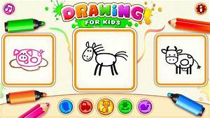 App Drawing Kids Toddler Children Android Paint  Color