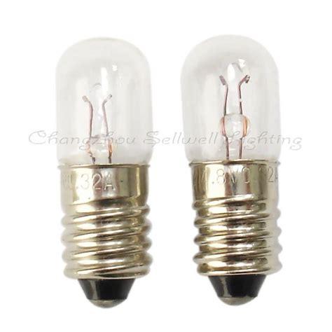 4 8v 0 3a e10x28 miniature l light bulb free shipping