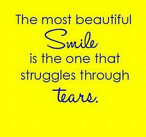 The most beautiful smile is the one that | nineimages