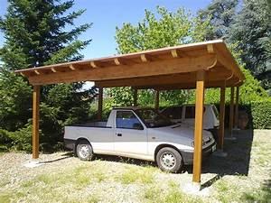 Coperture in legno per posti auto
