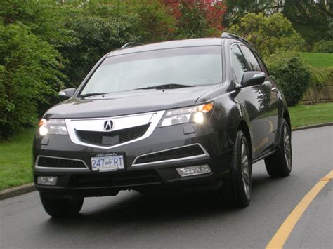 2013 Acura Mdx Review by 2013 Acura Mdx Elite Road Test Review Carcostcanada