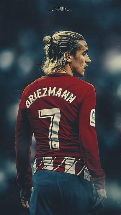 Griezmann Antoine Madrid Football Atletico Wallpapers Barcelona