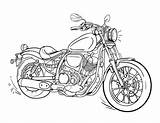 Motorcycle Coloring Pages Printable Drawing Coloringcafe America Captain Harley Drawings Boys Adult Motor Vehicle Triumph Biker Pdf Sheets Sheet Cycle sketch template