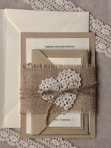 Cheap Wedding Decorations Nz by Mod Finds Rustic Chic Wedding Invitations Modwedding