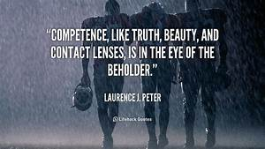 Competence Quot... Peter J Laurence Quotes