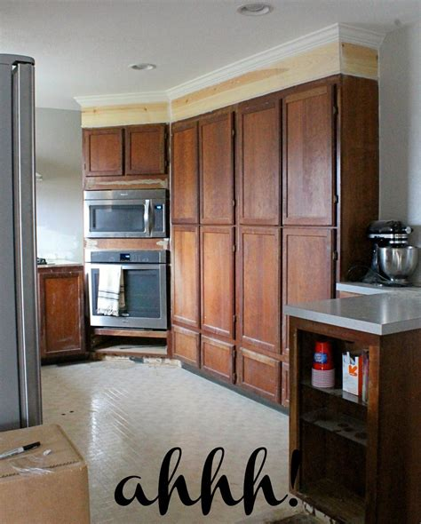 how to extend kitchen cabinets to ceiling wonderfully made extending kitchen cabinets to the 9395
