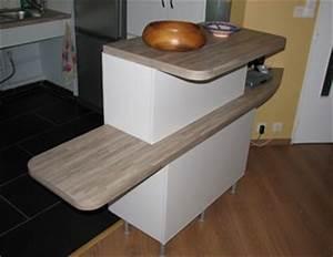 Creer son ilot de cuisine ilotcentral 10 ides dco de for Meuble avec plan de travail 15 206lot central le top10 pour votre cuisine