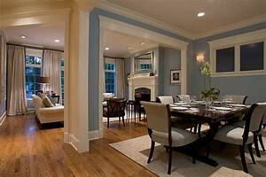 Dark blue dining chairs dining room traditional with white