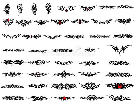 arm bands tattoo stock illustration image
