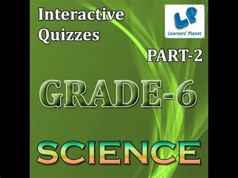 Science Quizzes For 6th Cbse Students Tutorials Youtube