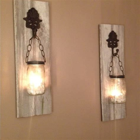 wall sconces and matching chandeliers 1000 ideas about jar sconce on barn