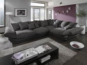 Günstige Big Sofa : megasofa loungesofa ecksofa sofa couch bigsofa rose x newlook trendmanufaktur wohnen ~ Frokenaadalensverden.com Haus und Dekorationen