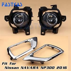 Car Fog Light For Nissan Np300   Navara 2016 Left Right
