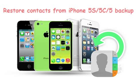 how to restore iphone 5s backup and recover iphone5 5s 5c data