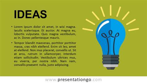 ideas metaphor powerpoint template presentationgocom