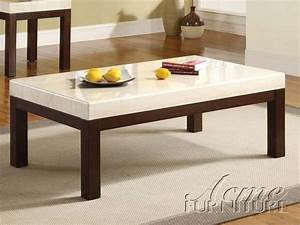 kyle white faux marble wood coffee table the classy home With white marble and wood coffee table