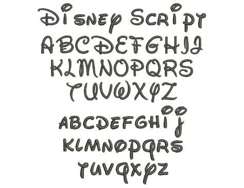 18 Disney Letters Font Images